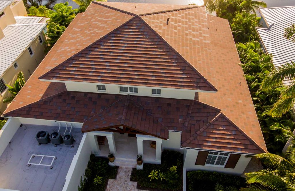Shingles Roof Top View Of Home Project | Gulf Coast Roofing | Naples,  Florida