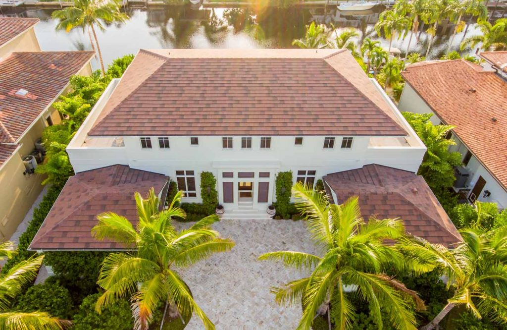 High Quality Shingles Roof Top Home Project | Gulf Coast Roofing | Naples, Florida